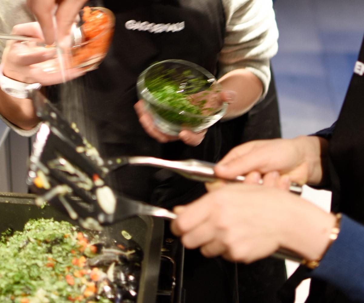 Kochen im Gaggenau Küchenstudio