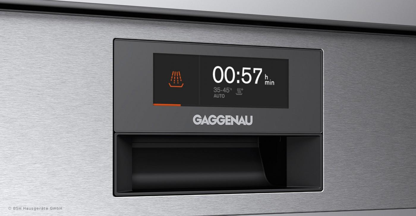 Gaggenau Geschirrspüler Interface